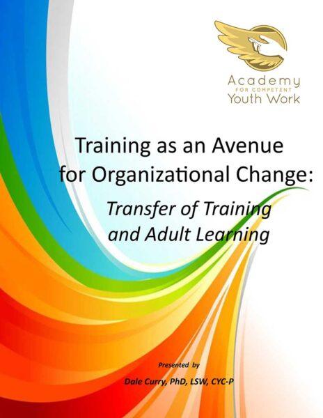 Training as an Avenue for Organizational Change